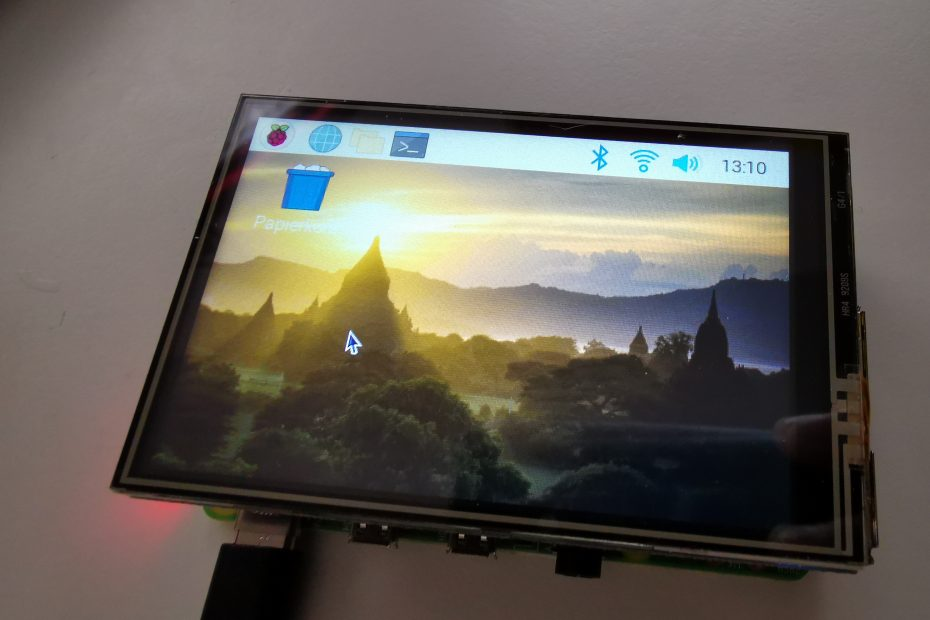 3,5 Zoll Display mit Touch